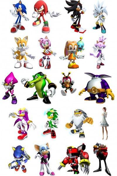 Coloriage Sonic à colorier - Dessin à imprimer