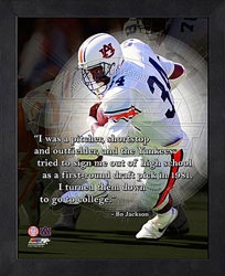 Bo Jackson Motivational Quote - Auburn Tigers