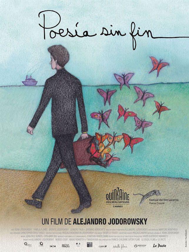 Poesia sin fin de Alejandro Jodorowsky - affiche