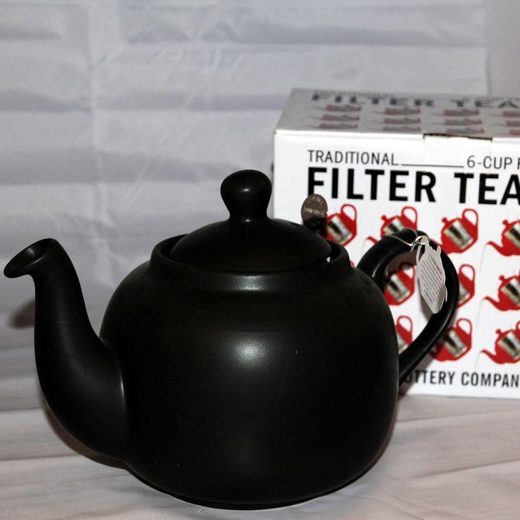 london-pottery-matt-black-6-cup-farmhouse-teapot
