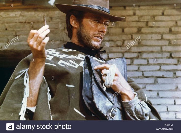 Clint Eastwood / A Fistful Of Dollars1964 Directed By Sergio Leone