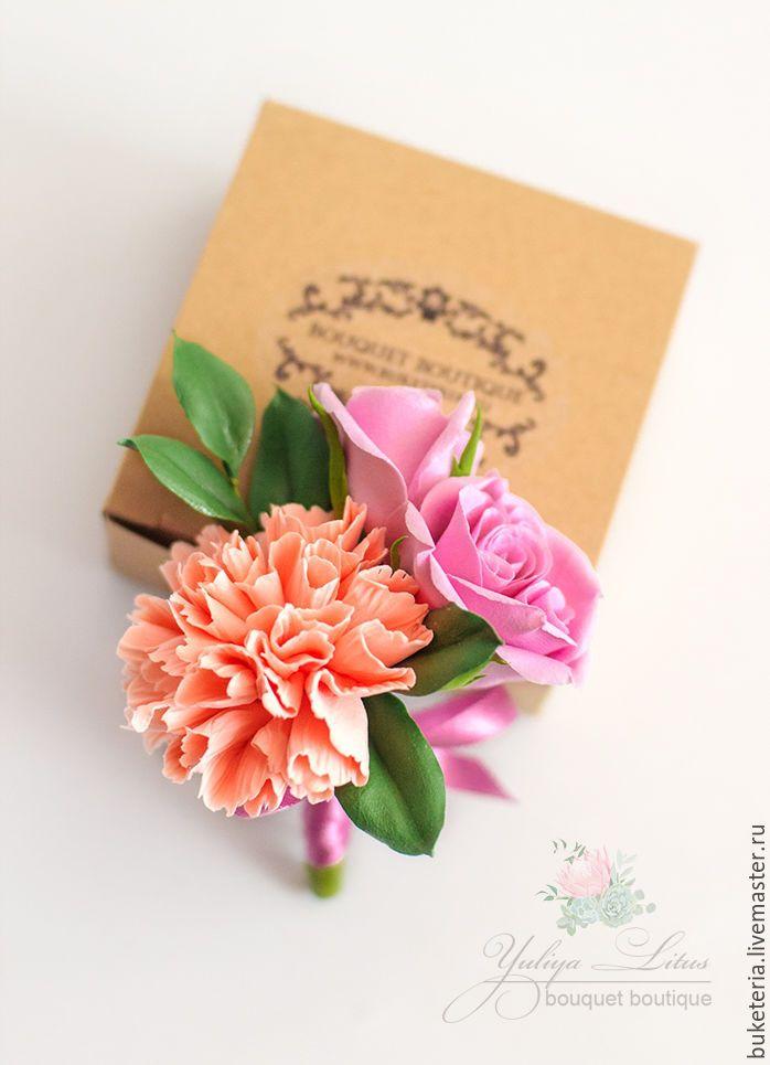 Купить Бутоньерка свадебная - бутоньерка, свадьба, свадебные аксессуары, бутоньерка для жениха, бутоньерка свадебная