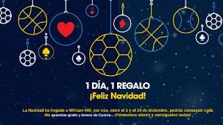 el forero jrvm y todos los bonos de deportes: William Hill 1 Día, 1 Regalo Feliz Navidad 1-24 di...
