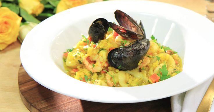Syditaliensk risotto alla marinara | Recept från Köket.se