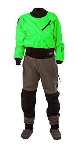 Kokatat Women's Hydrus 3L Meridian Drysuit – The Women's Hydrus 3L Meridian Drysuit from Kokatat is the perfect suit for paddlers with skirted boats. Waterproof and breathable Hydrus 3L fabric keeps paddlers completely dry in extreme conditions. The super tough outer layer...