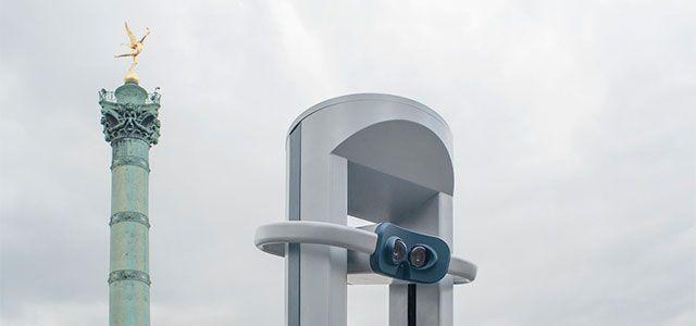 Article paru sur Batinfo.com sous le titre original: Une première borne de réalité virtuelle Timescope installée à Paris  Timescope est une startup parisienne qui développe la première borne de réalité virtuelle en libre-service, révolutionnant la découverte des lieux emblématiques en permet