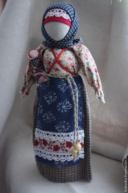 """Народные куклы ручной работы. Заказать народная кукла """"Берегиня"""". Любовь  Белкина. Ярмарка Мастеров. Достаток, славянская кукла"""