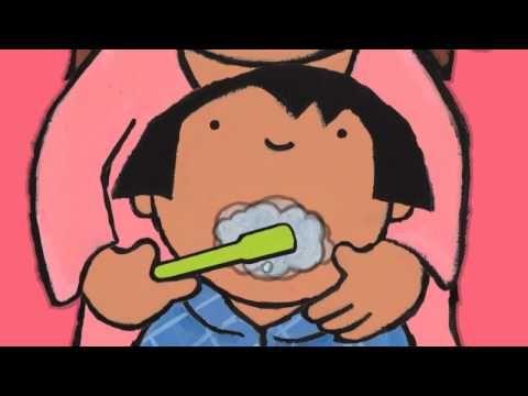 Fundel in de kijker: Anna poetst haar tanden - YouTube