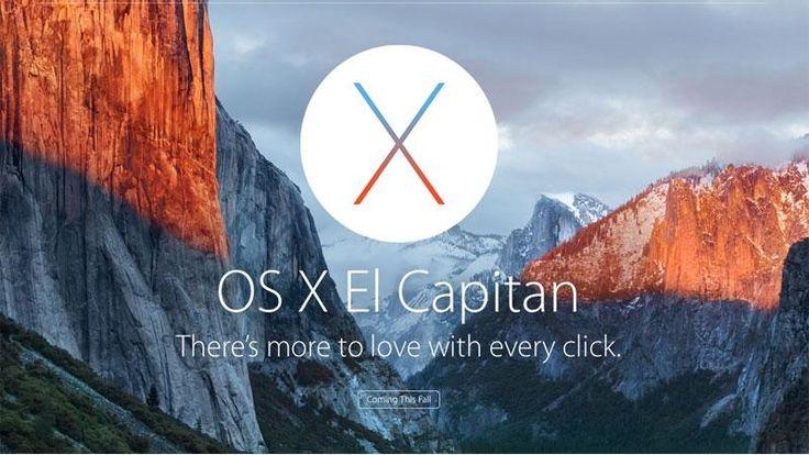 Mac OS X 10,11 El Capitan pušten - dostupan za preuzimanje sada iPhone Web Shop |