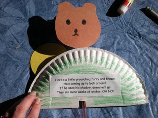 100 best kids 39 groundhog day activities images on for Groundhog day crafts for preschoolers