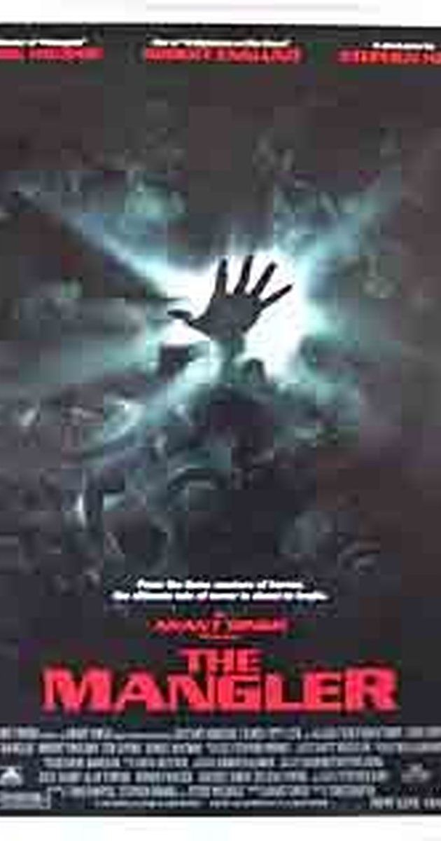 Directed by Tobe Hooper.  With Robert Englund, Ted Levine, Daniel Matmor, Jeremy Crutchley. A laundry folding machine is possessed by a demon from Hell.