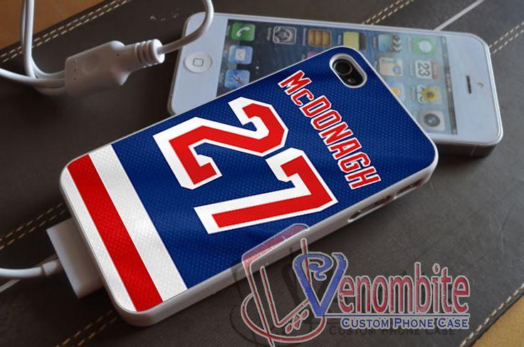 Ryan McDonagh New York Rangers Case - iPhone , iPad, Samsung Galaxy & HTC Cases