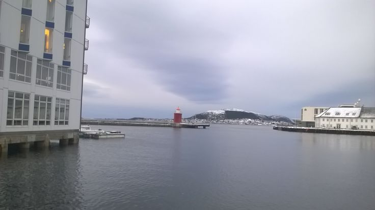Lighthouse in Ålesund, Norway.