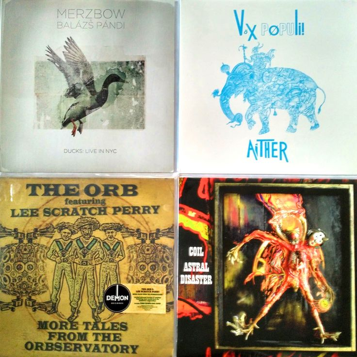Merzbow + Balázs Pándi – Ducks: Live In NYC – (VG+/VG+)  – 585 грн. Vox Populi! – Aither – (M/NM) – 795 грн. The Orb Featuring Lee Scratch Perry – More Tales From The Orbservatory – (NM/NM) – 875 грн. Coil – Astral Disaster – (NM/NM) – 765 грн.   #newindiskultura #diskultura #TrueVinylRecordsStore #kyiv #kiev #киев #київ #kyivshop #vinyl #винил #пластинки #Merzbow #BalázsPándi #Noise #VoxPopuli #Industrial #TheOrb #LeeScratchPerry #Orb #Coil 