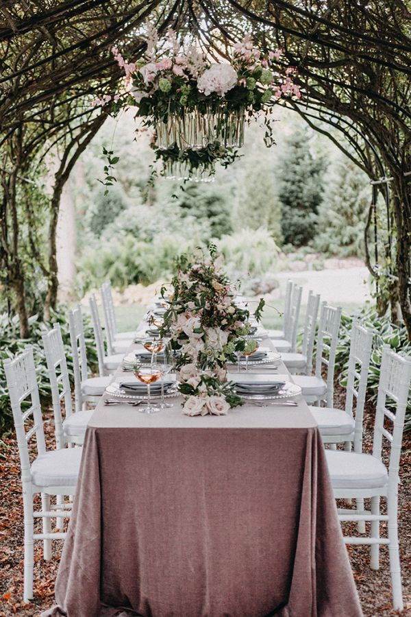 French Inspired Spring Wedding Reception Style From Aisle Society