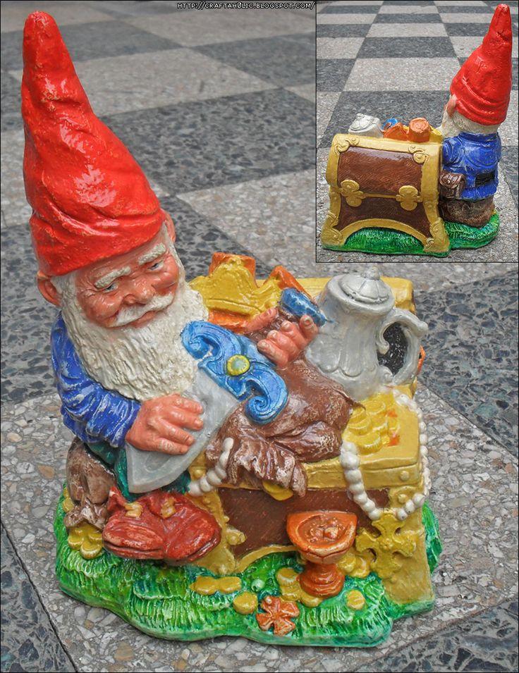 A Gnome and his Treasure Chest