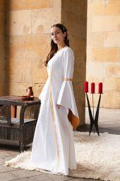 Mittelalter Hochzeitskleid Gewandung