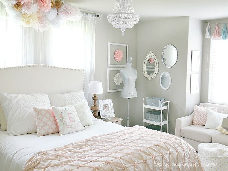 From Junk Room To Beautiful Bedroom The Big Reveal: 90 Best Beautiful Rooms-Girl Bedrooms Images On Pinterest
