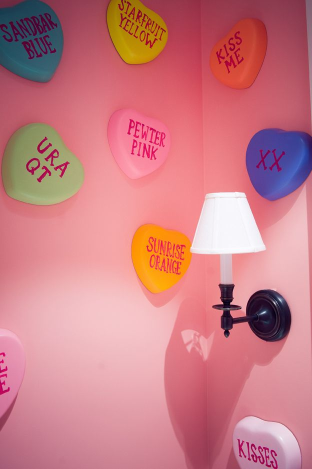 for a daughter's room? obviously in chalkboard paint so you can change the words
