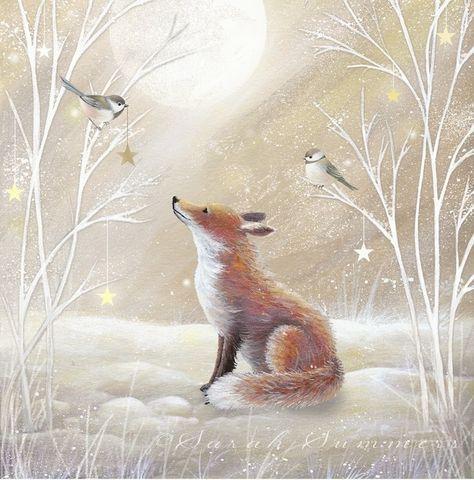 Милые новогодние иллюстрации : фото #6