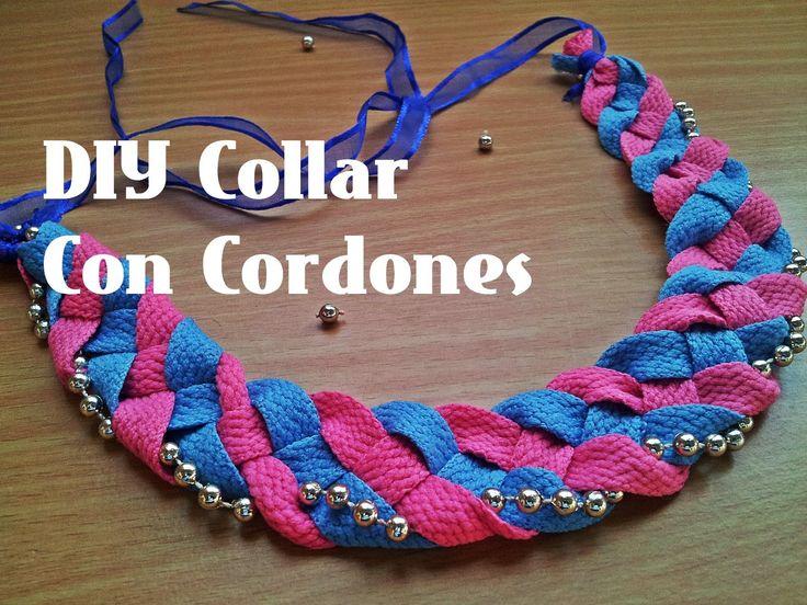 DIY Collar con Cordones ♥