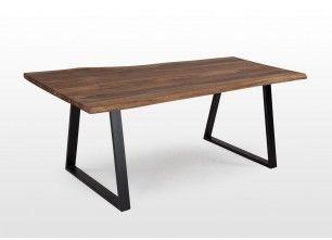Solid Sheesham Wood Dining Table - Matrix  - EZ Living Furniture   #HomeDecor #EZLivingFurniture  #Rustic