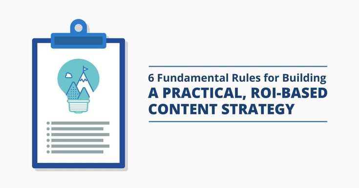 6 Fundamental Rules for Building a Practical, #SocialROI-Based #ContentStrategy by ~ @JuliaEMcCoy 🛠 http://rite.ly/K0o9 #smm #marketingstrategy