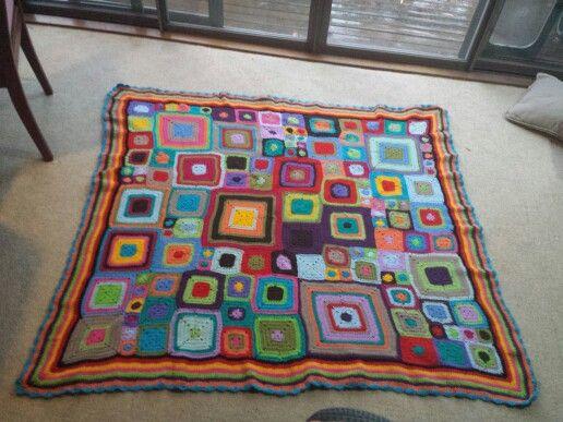 My first babette blanket