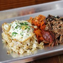 Smalls, a creative new barbecue joint with American-Filipino dishes.