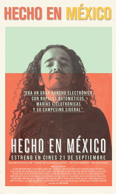 cafe tacuba, movie poster, hecho en méxico,