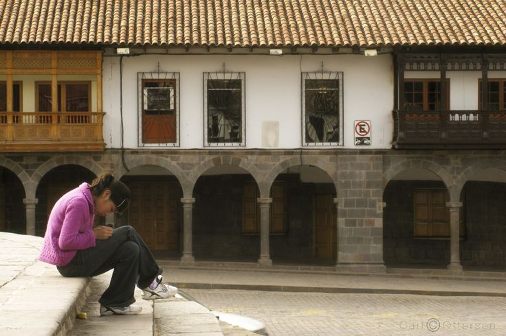 On the Steps of the Church in Cusco by Carl Ottersen on 500px