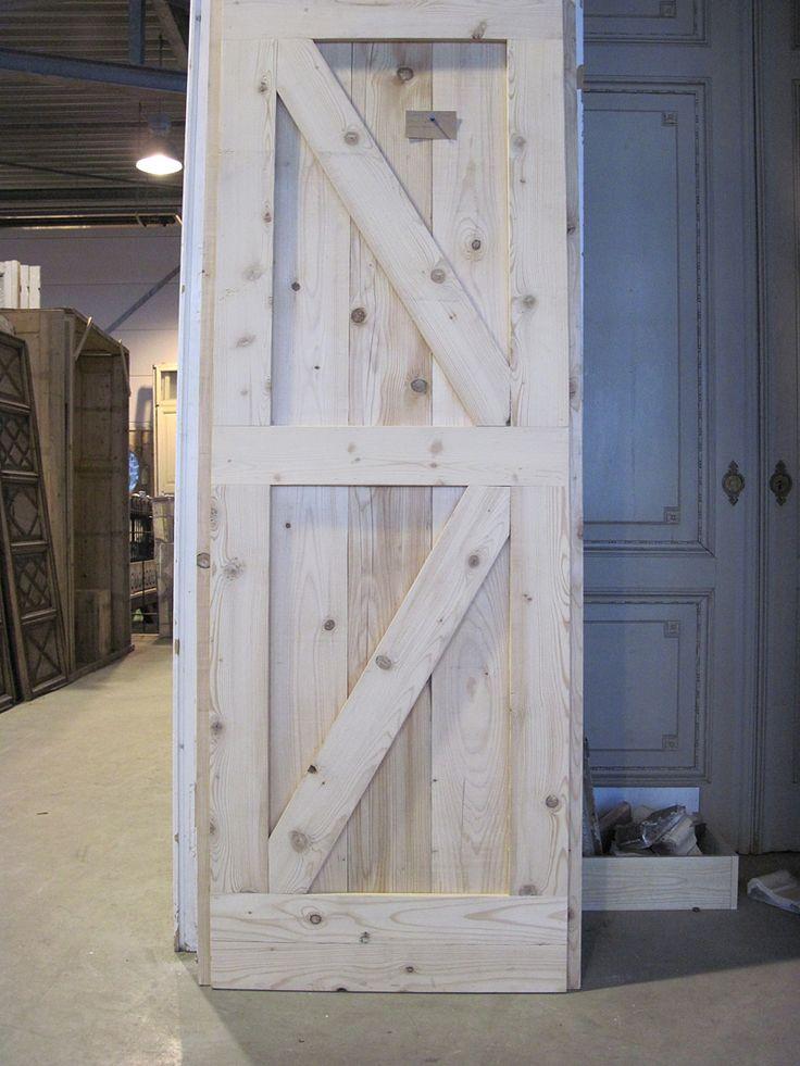 Jan van IJken houten deur
