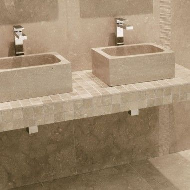 Fossil Grey Rectangular Basin better bathrooms