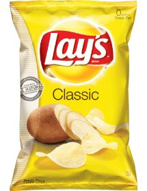Lays Potato Chips (NOT Kettle Cooked) - IMPORTANT: Please read ingredient labels. Manufacturers continually change packaging and processing.