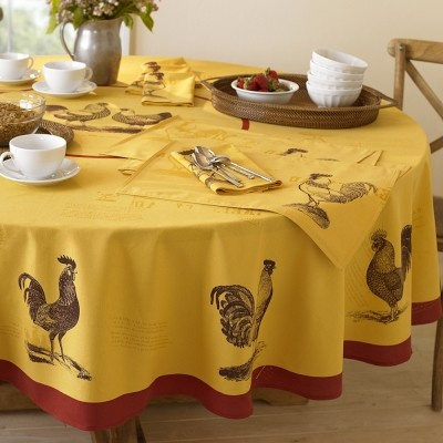 Roosters Tablecloths And Farmhouse On Pinterest