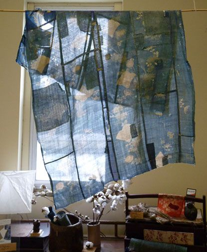 A patched and repatched cloth ~ just beautiful ~ Inspiration