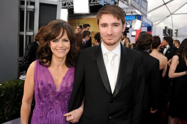 Actress Sally Field and son, Sam Greisman attend the 19th Annual Screen Actors Guild Awards.