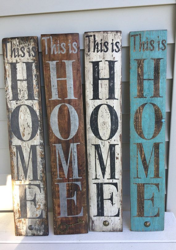 This is Home So Good to be Home by ReKLaimedDesigns on Etsy