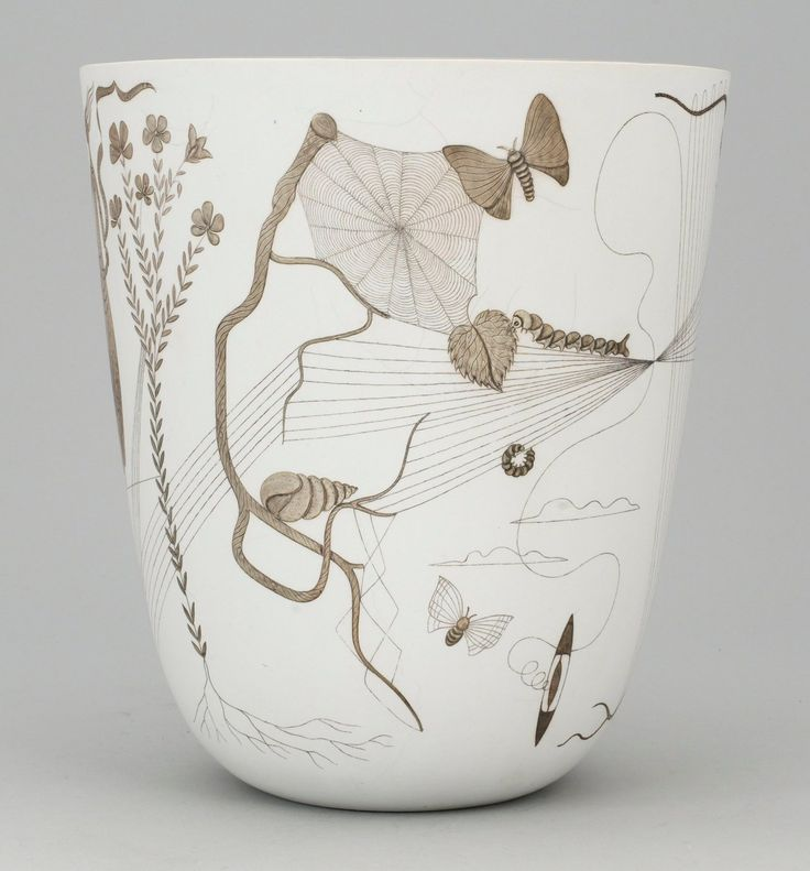Gustavsberg pottery |Stig Lindberg...last name is Lindberg..I think its a sign I should have it!