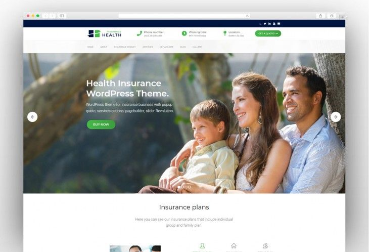 Best Insurance Wordpress Themes 2019 Best Insurance Business