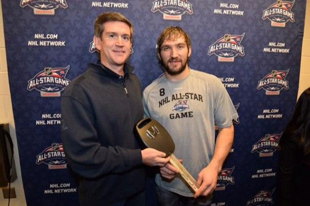 COLUMBUS, Ohio – So, why did Alex Ovechkin need a new car so badly? To give away to charity, of course. What seemed like a simple joke during the Friday night NHL All-Star draft had a special reaso...