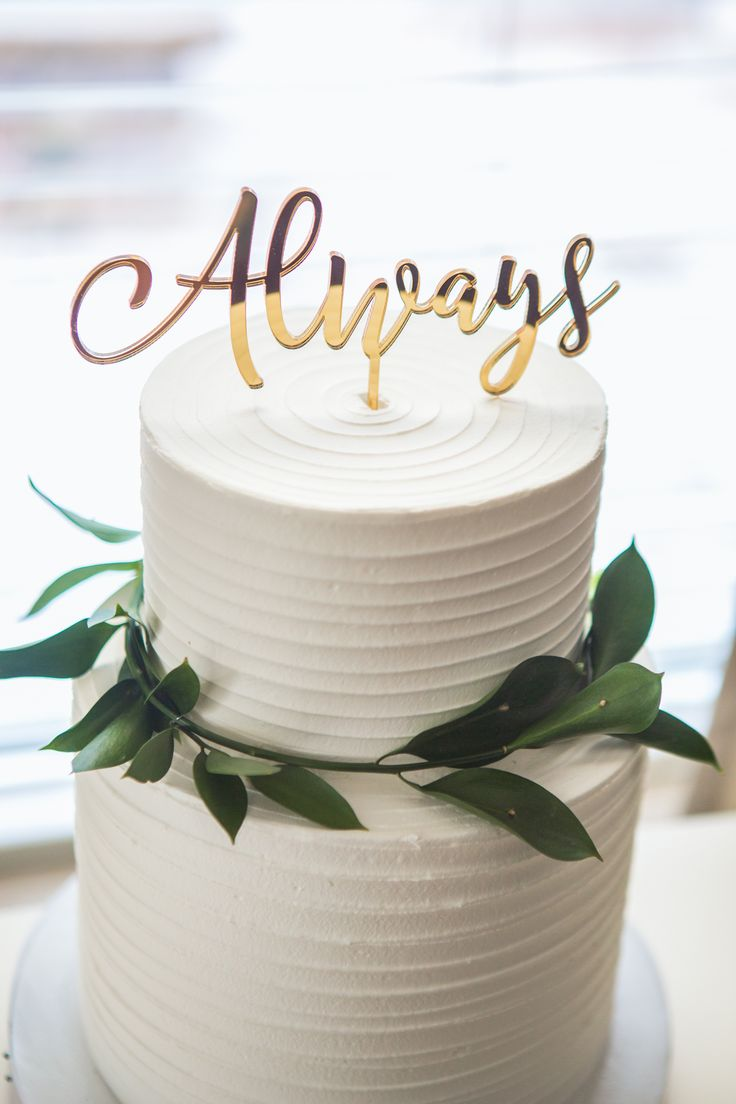 Best 25 unique wedding cake toppers ideas on pinterest cake wedding cake topper always gold calligraphy script cake decor in custom colors or gold theme wedding reception dessert item cool fonts harry potter junglespirit Choice Image