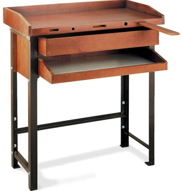 Jewelry Workbenches 67719: Grobet Jewelers Workbench Single With Metal Legs BUY IT NOW ONLY: $599.0