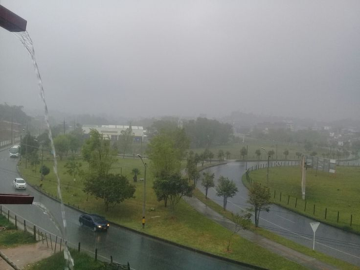 Una mañana perfecta para meditar, la lluvia trae paz y tranquilidad!