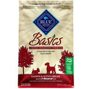 Blue Buffalo Basics Salmon & Potato Recipe Dry Dog Food | Pet Food Direct