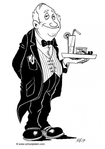 A butler to greet me at the door with a Ketel One martini, or glass of sauvignon blanc.: The Doors, Glasses, Martinis, Buttons, Butler Character Outfits, Butler Characteroutfit