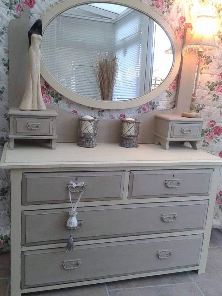 Great stuff by Sharon Ward Re Griffiths - thanks for sharing.'Finished in Annie Sloan Country grey and Cream, distressed and Waxed'