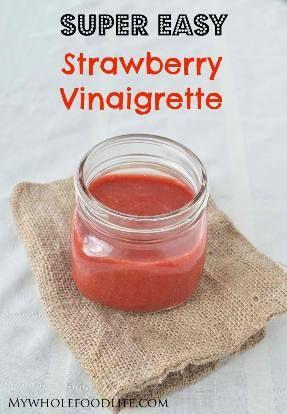 Easy Homemade Strawberry Vinaigrette Recipe