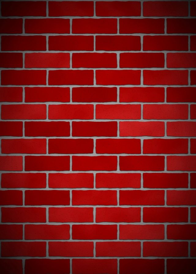 Red Simple Brick Wall Flat Pattern Background Brick Wall Background Blue Background Images Background Patterns Brick wall wallpaper hd