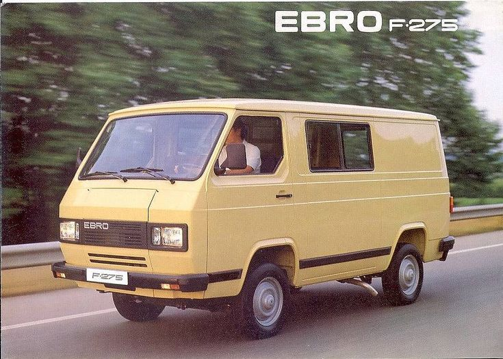 furgoneta Ebro
